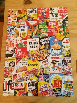 2016-03-27  001 Cereal Box Puzzle