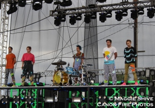 Family Force 5 (L to R: Nadaddy, Crouton, Hollywood, Fatty, Chap Stique)