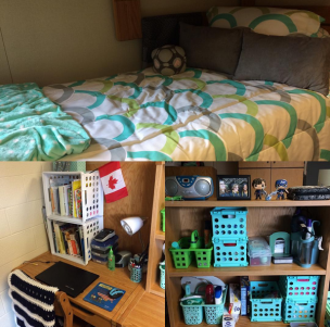 dorm collage