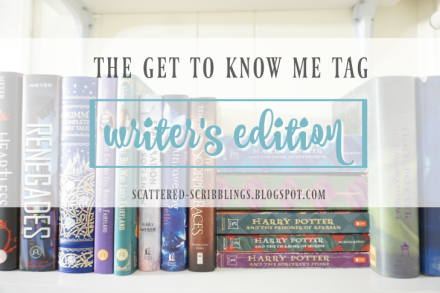 the get to know me tag writer's edition
