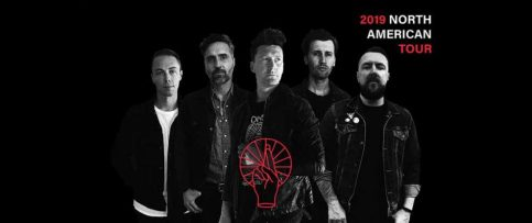 promotion image for Anberlin's 2019 north american tour